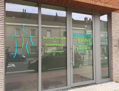Raambelettering Body&Spine