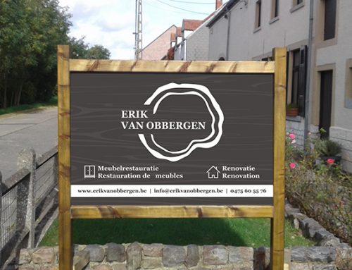 Paneel in houten frame – Erik Van Obbergen