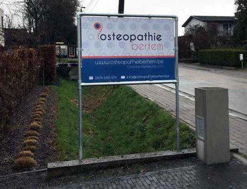 Paneel in frame – Osteopathie Bertem