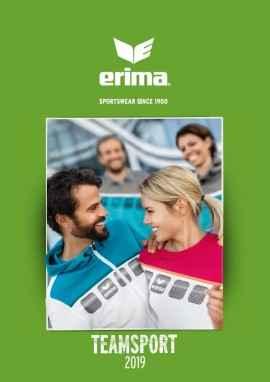 Erima sportswear catalogus